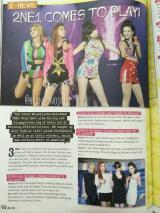 [SCANS] 140718 2NE1's Feature on Singapore's Teenage Magazine