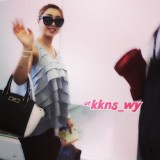 [FANCAM] 140715 Short Instavid of Minzy at Kansai Airport heading to Korea