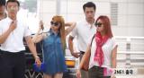 [VIDEO] 140912 Press Coverage of 2NE1 at Incheon Airport heading toSingapore