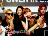 [PHOTOS] 140912 2NE1 at YG Family GALAXY Tour: Power in Singapore PressConference