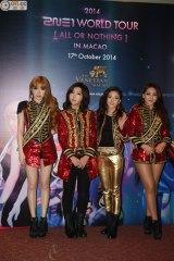 [PHOTOS] 141017 Press Photos of 2NE1 at AON Macau PressConference