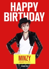 ✮ Various Celebrations For Minzy's 22nd Birthday! #MinzyIs2NE2